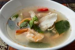 203seafood soup